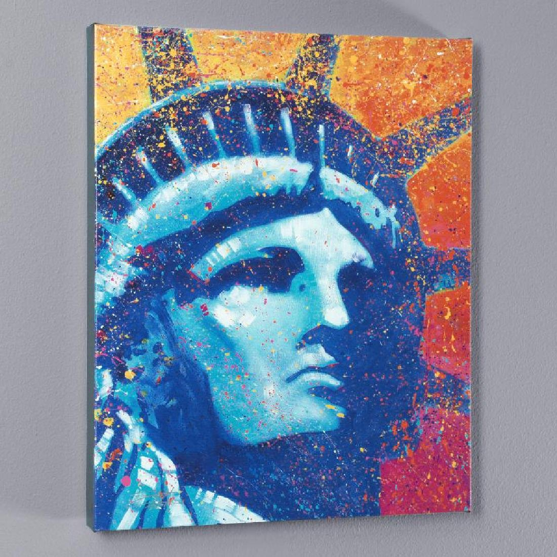 """Liberty"" LIMITED EDITION Giclee on Canvas by Stephen"