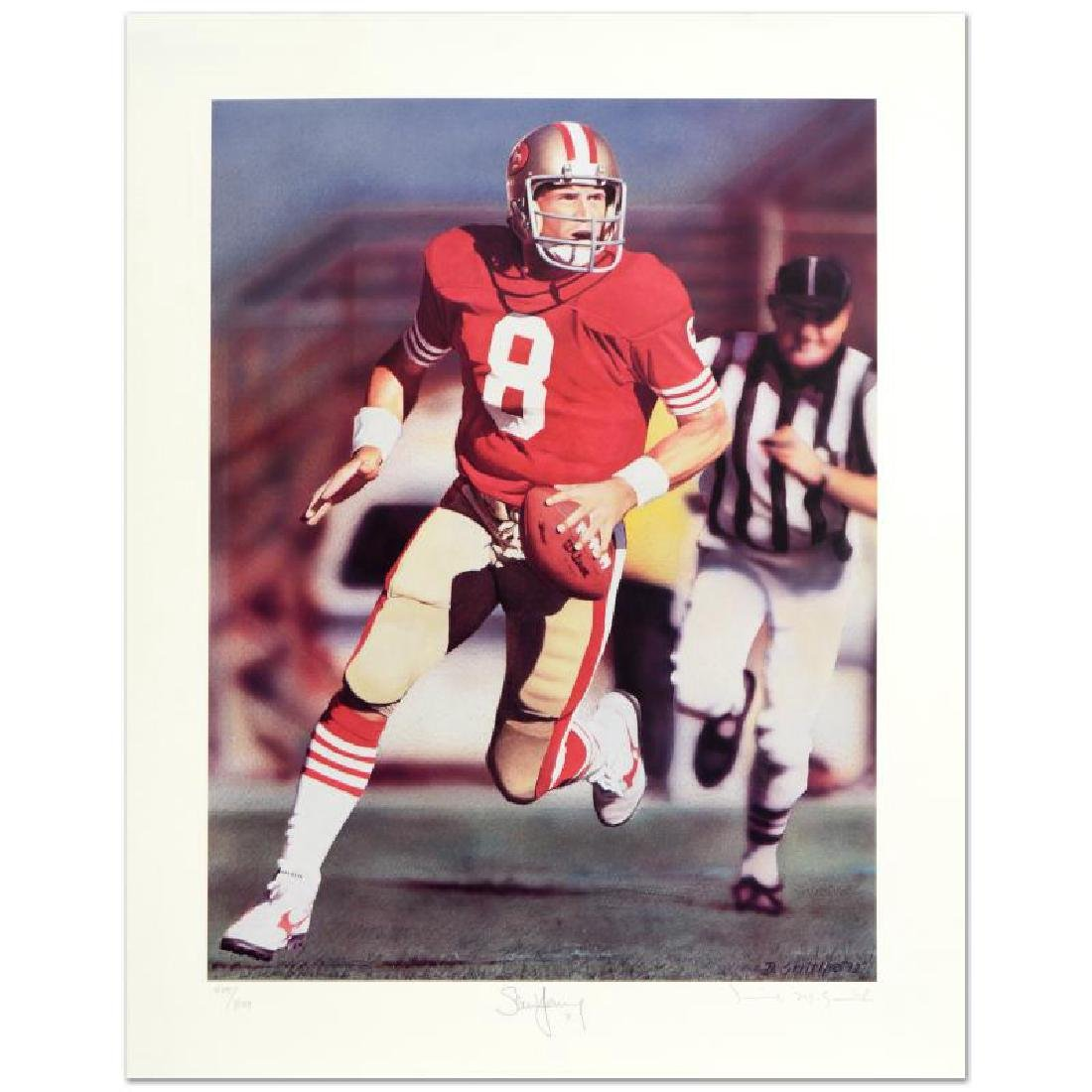 """Daniel M. Smith - """"Run & Shoot (Steve Young)"""" Limited"""