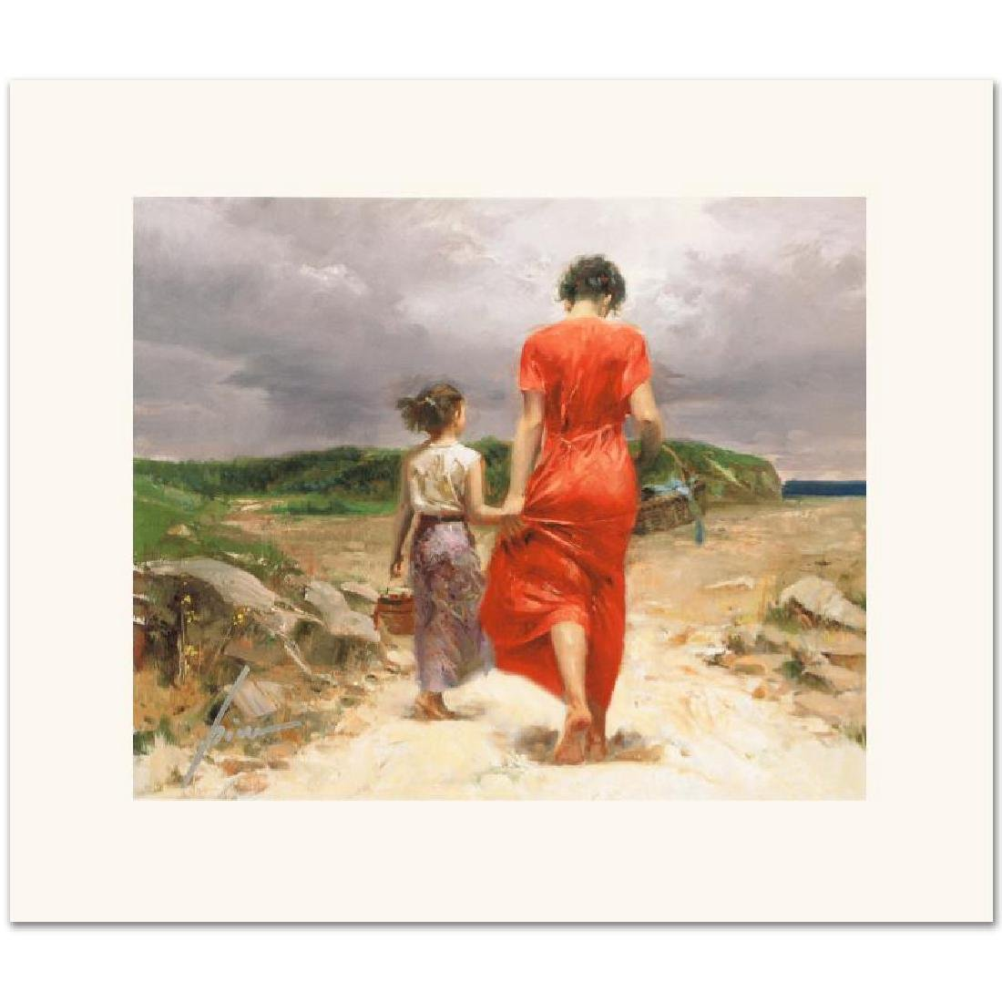 Homeward Bound Limited Edition Giclee on Canvas by Pino
