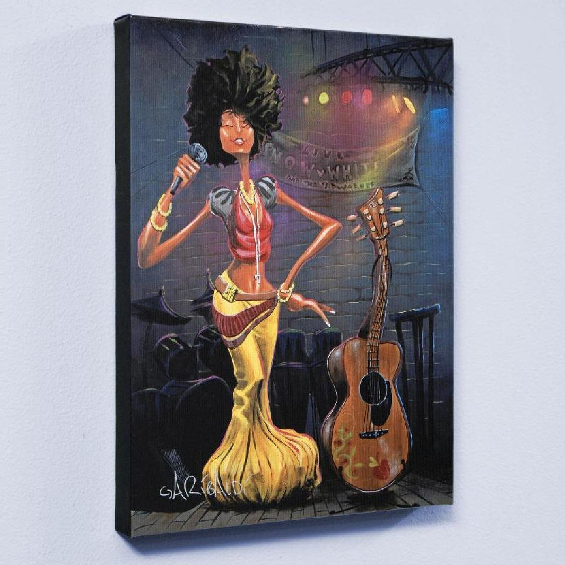 """""""Snow White"""" LIMITED EDITION Giclee on Canvas by David"""
