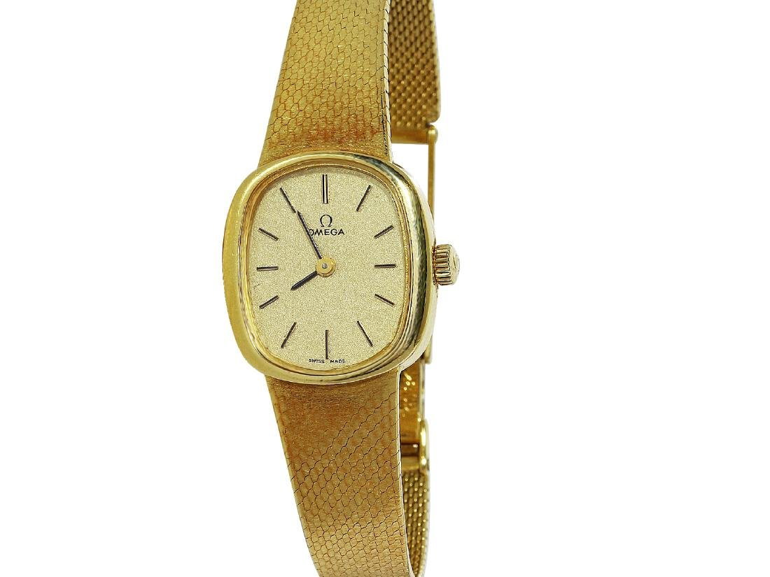 Omega 18KT Yellow Gold Watch