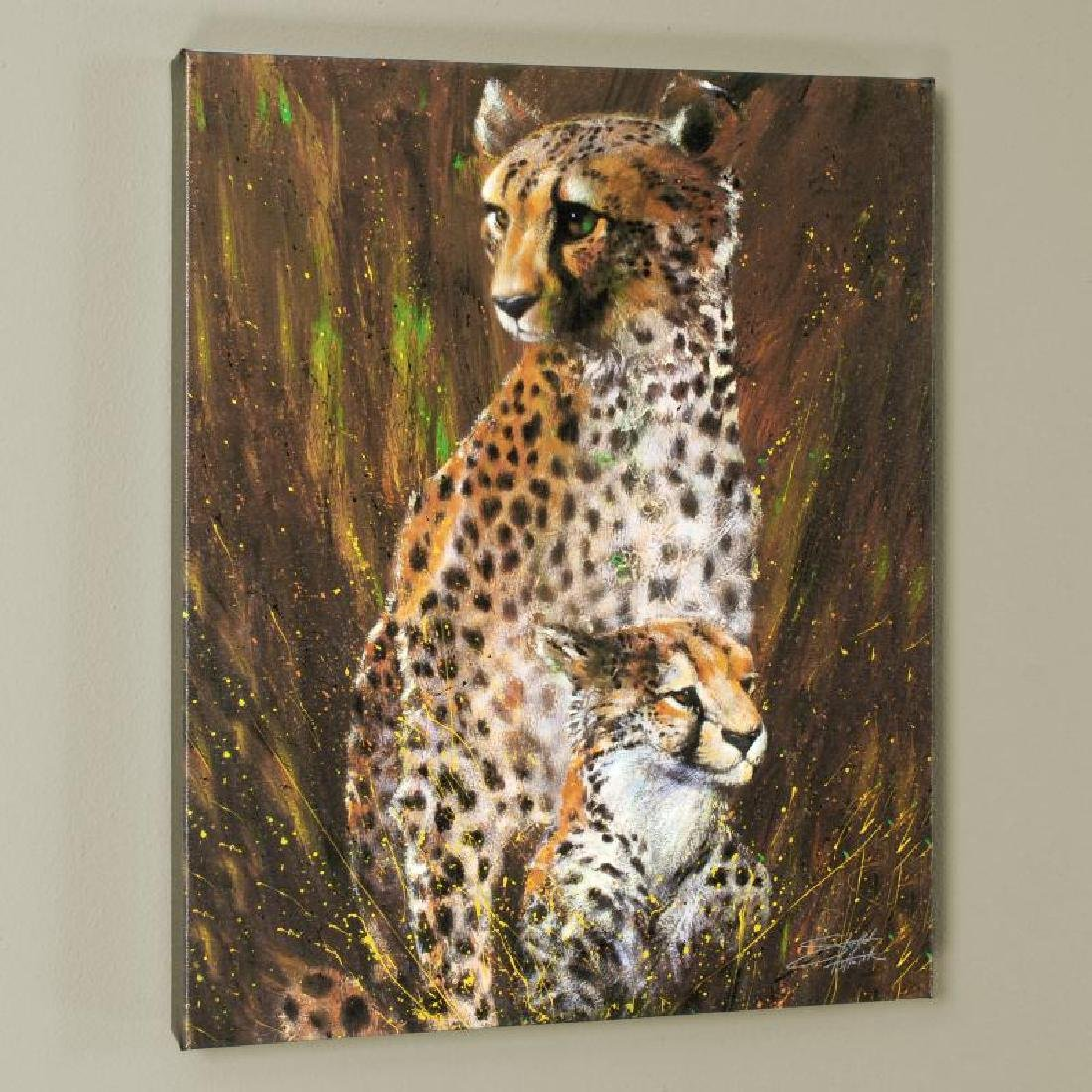 """Mother and Child"" LIMITED EDITION Giclee on Canvas by"