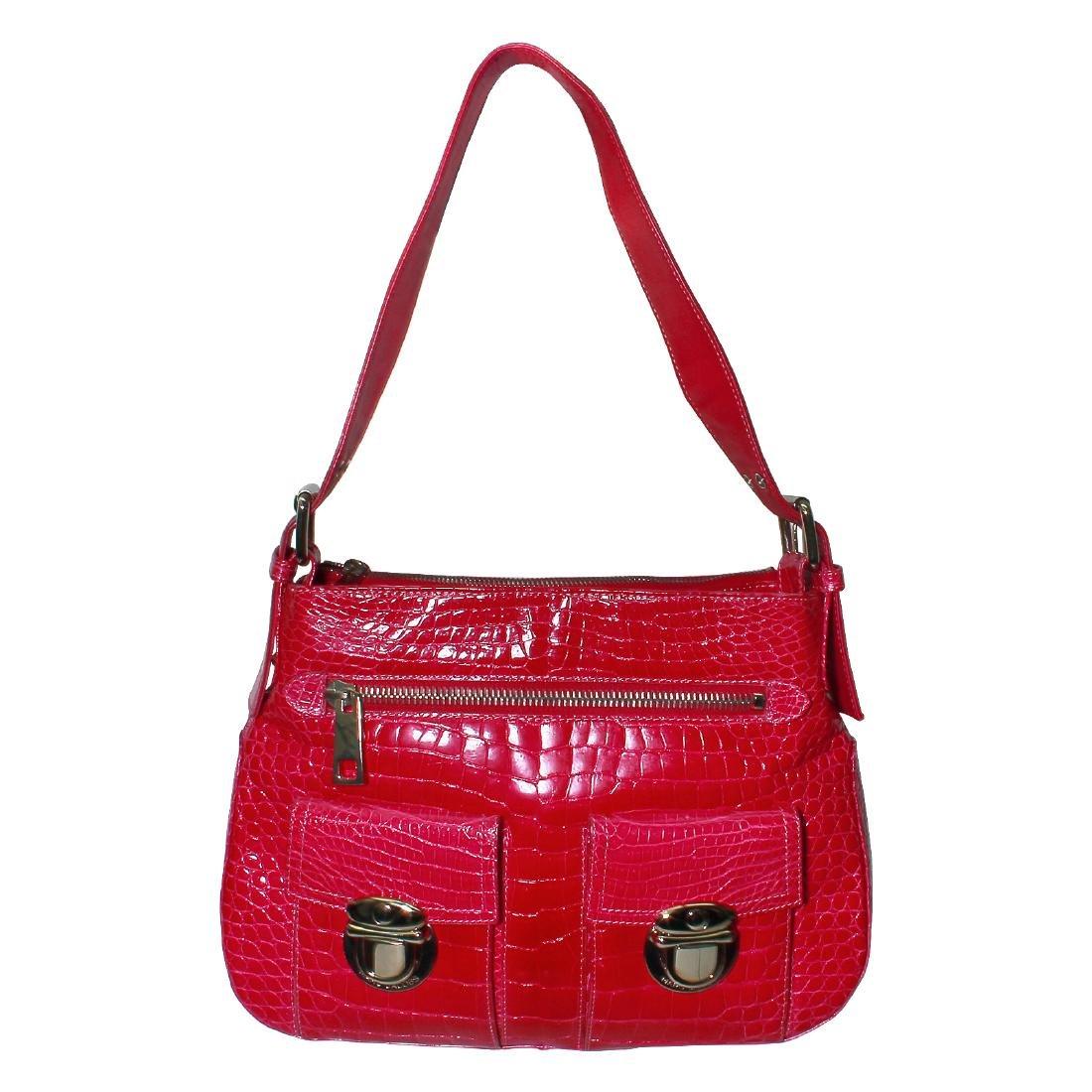 Marc Jacobs Designer Pink Leather Bag