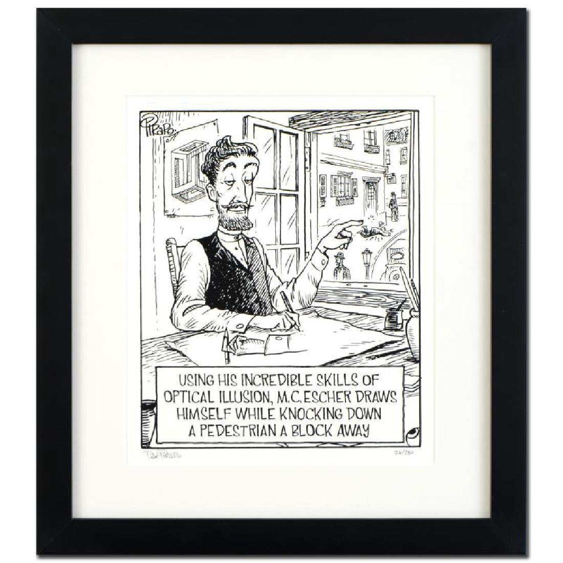 "Bizarro! ""Escher"" is a Framed Limited Edition which is"