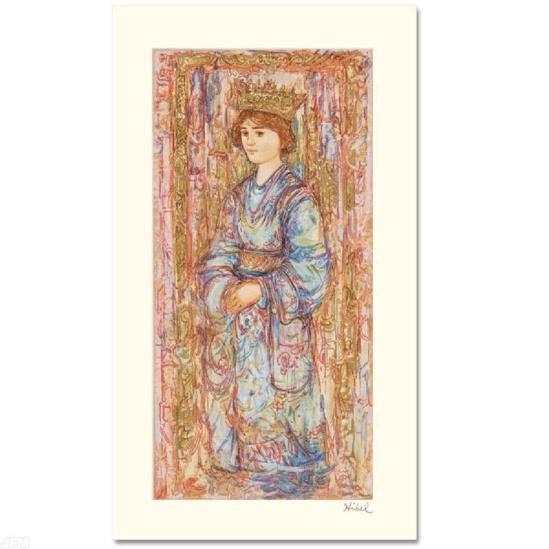 """""""Book of Hours II"""" Limited Edition Serigraph by Edna"""