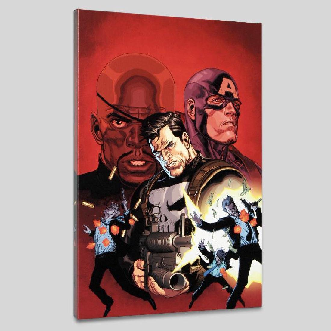 """""""Ultimate Avengers #1"""" LIMITED EDITION Giclee on Canvas"""