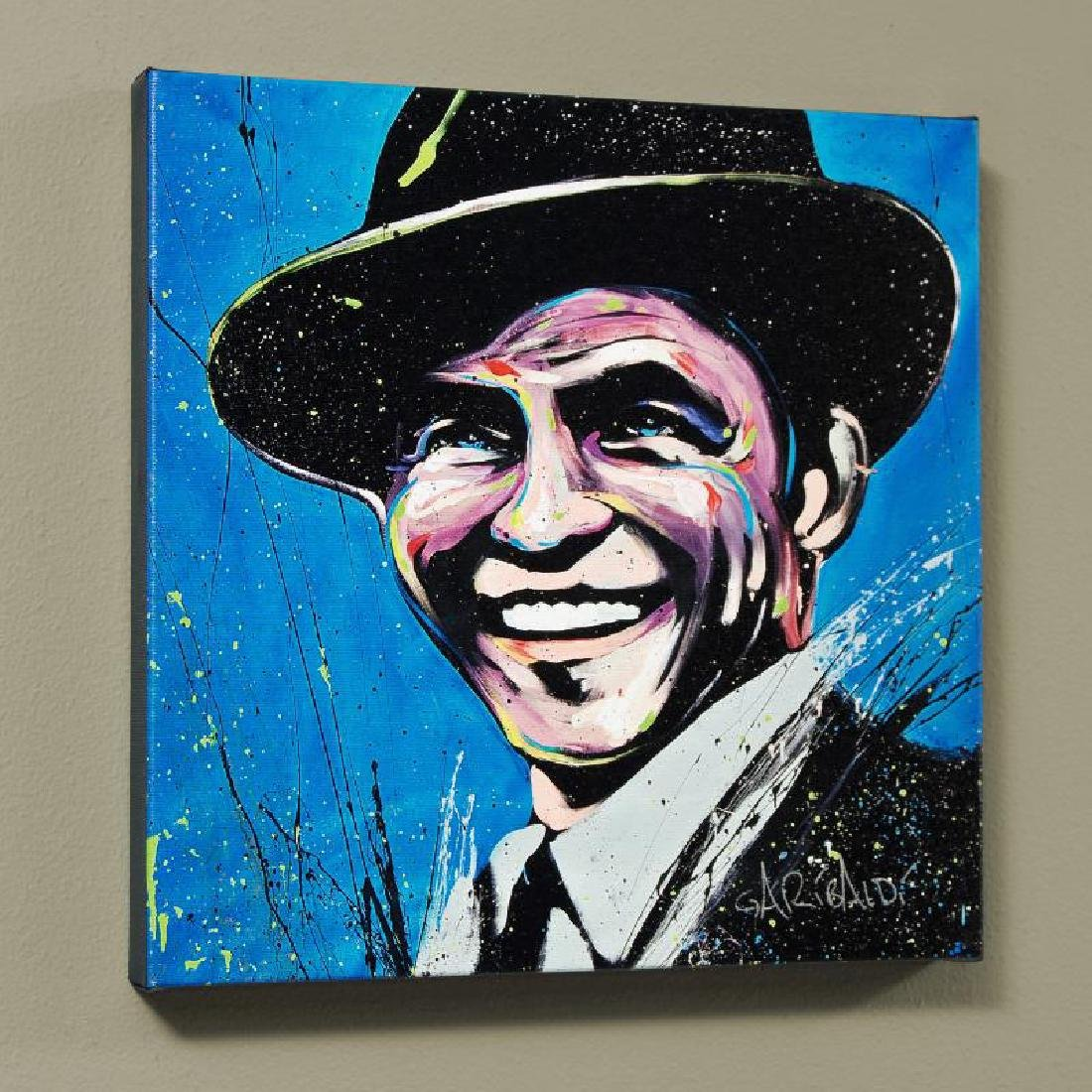 """Frank Sinatra (Blue Eyes)"" LIMITED EDITION Giclee on"