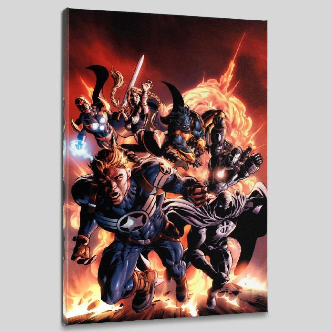 """""""Secret Avengers #2"""" LIMITED EDITION Giclee on Canvas"""