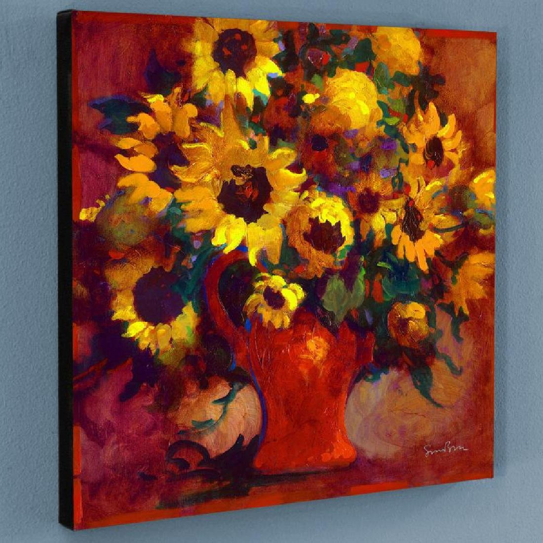 """""""Sunflowers"""" Limited Edition Giclee on Canvas by Simon"""