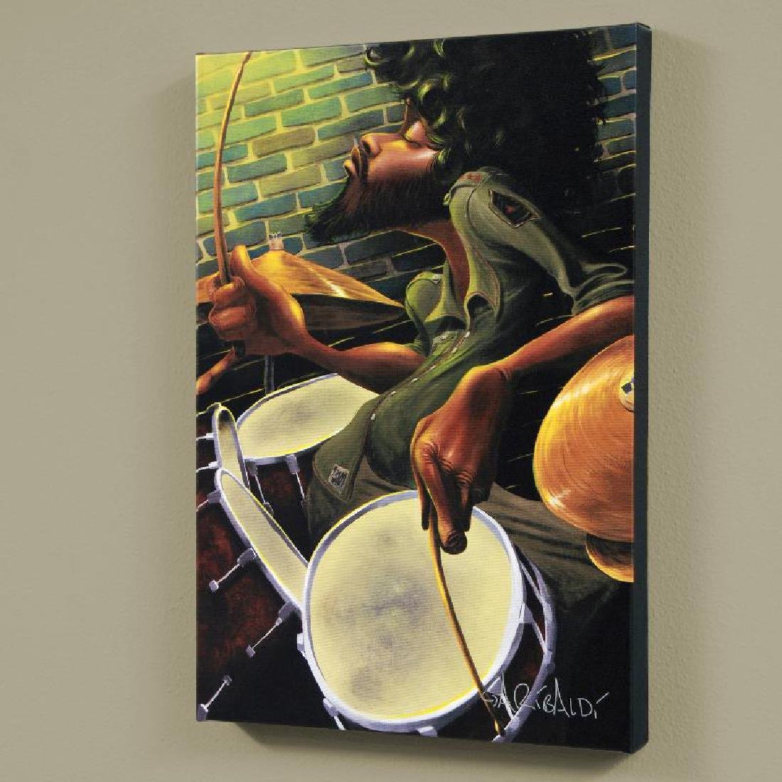 """""""Break Beat Fever"""" LIMITED EDITION Giclee on Canvas"""
