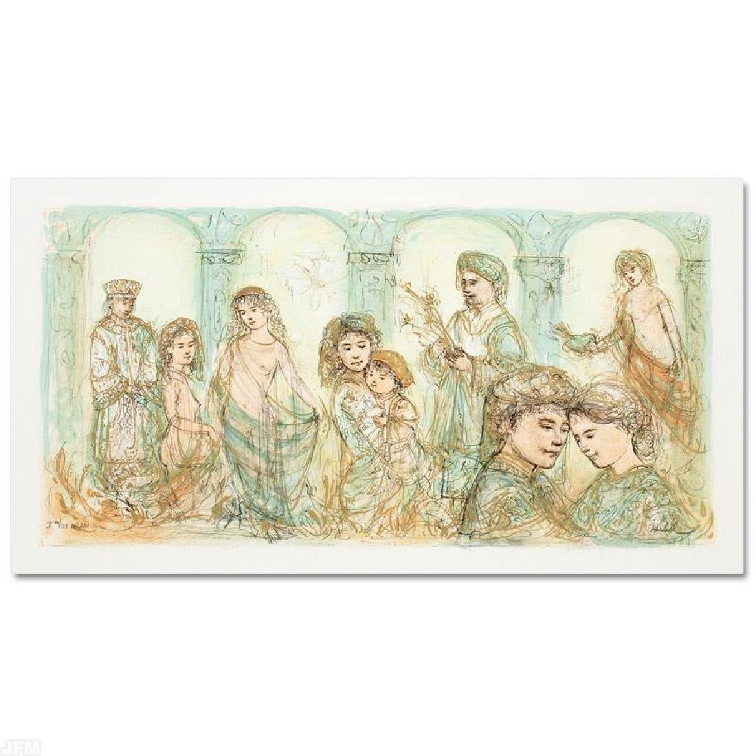 """""""Solomon's Court"""" LIMITED EDITION Lithograph by Edna"""