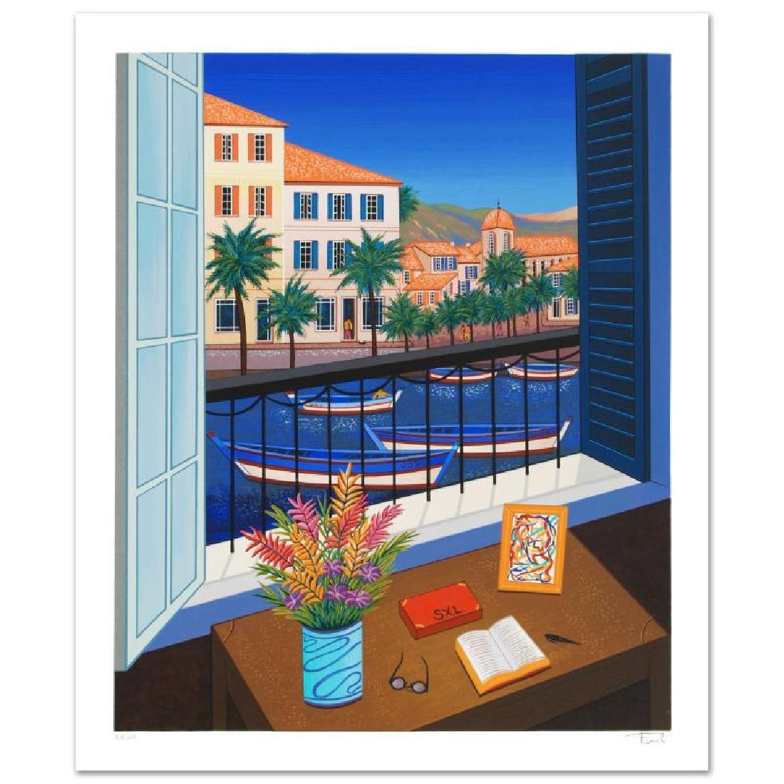 """Window on Bonifacio"" Limited Edition Serigraph by"