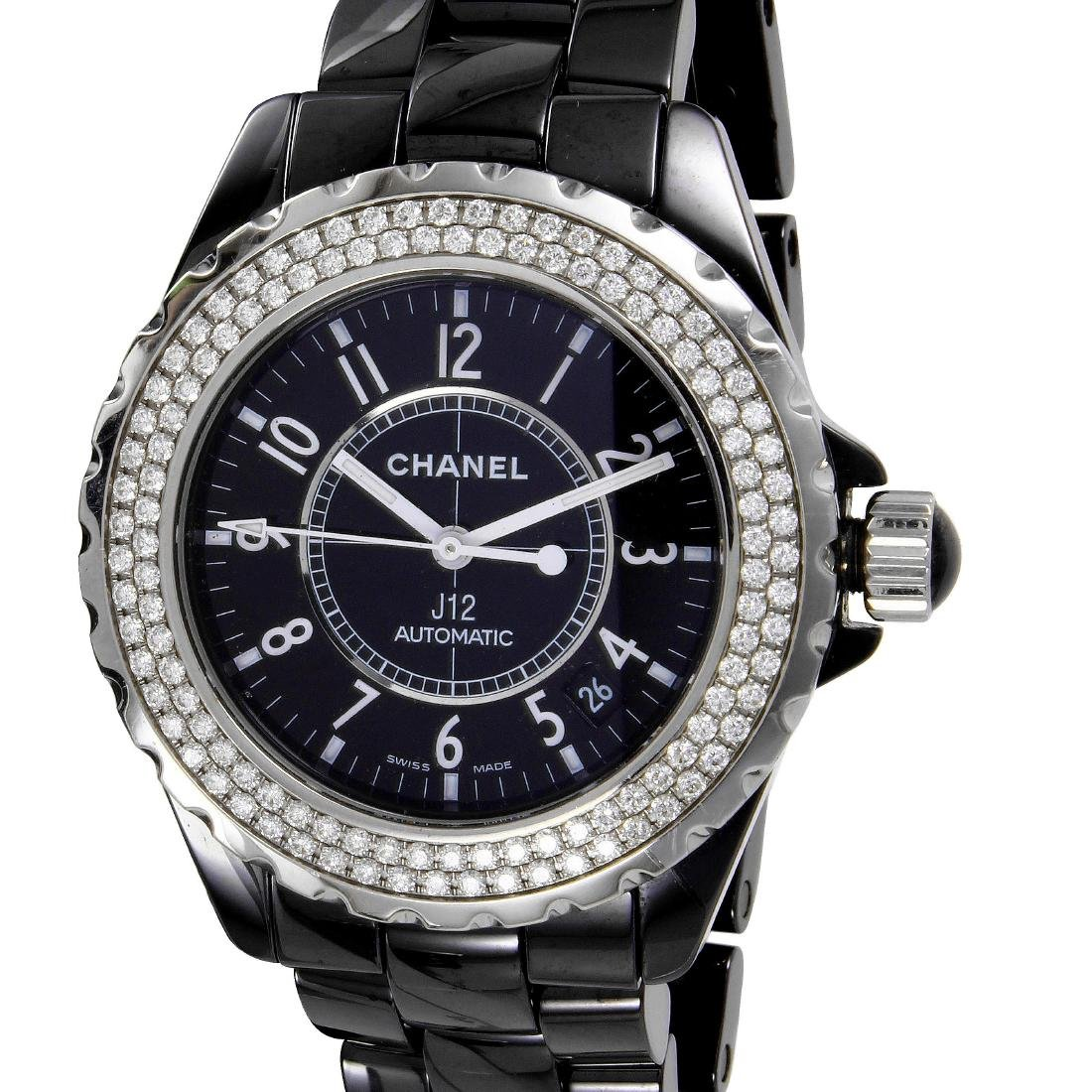 Chanel J12 Automatic Ceramic Diamond Watch