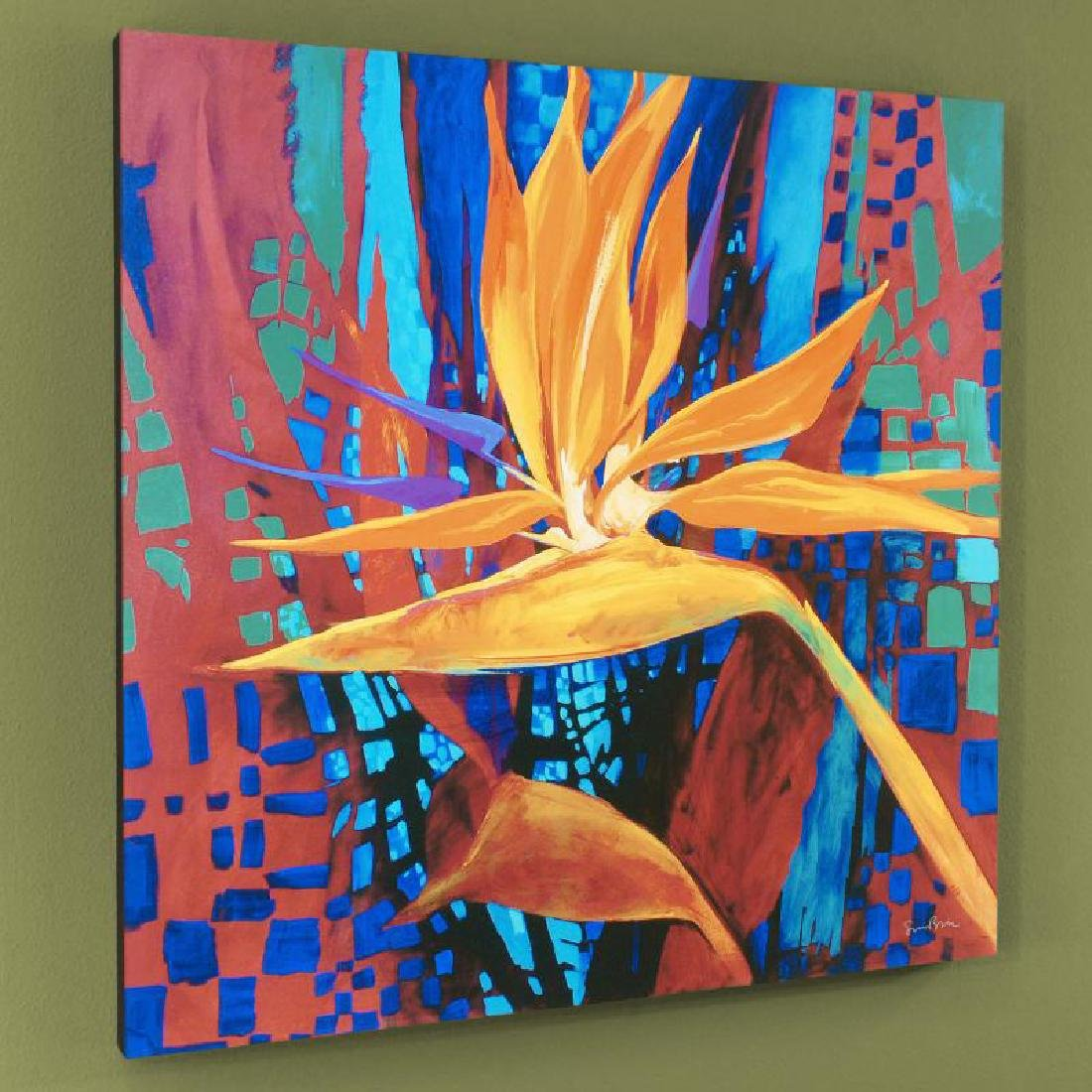 """Bird of Paradise"" Limited Edition Giclee on Canvas by"