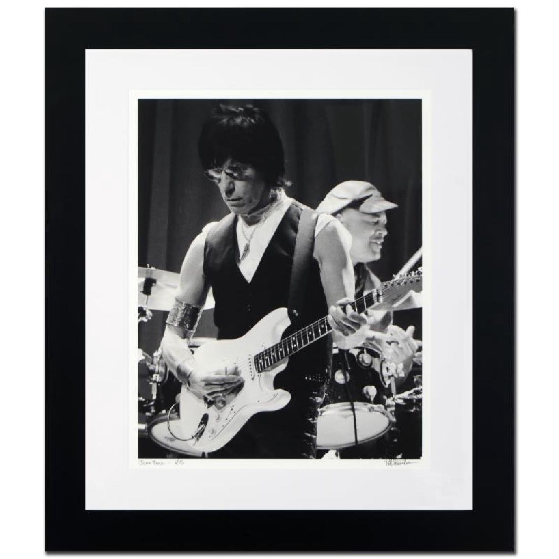 Jeff Beck Limited Edition Giclee by Rob Shanahan,