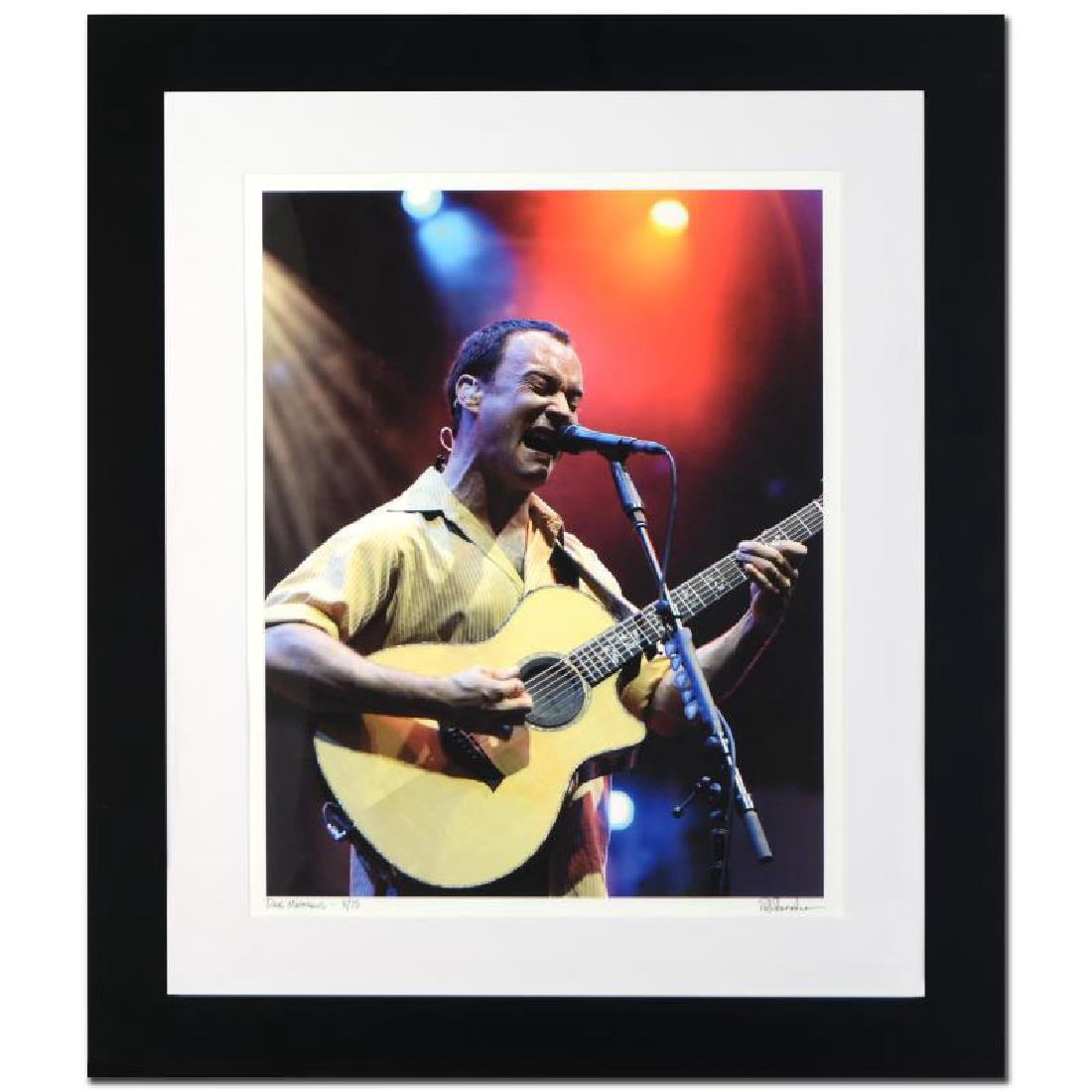 Dave Matthews Limited Edition Giclee by Rob Shanahan,
