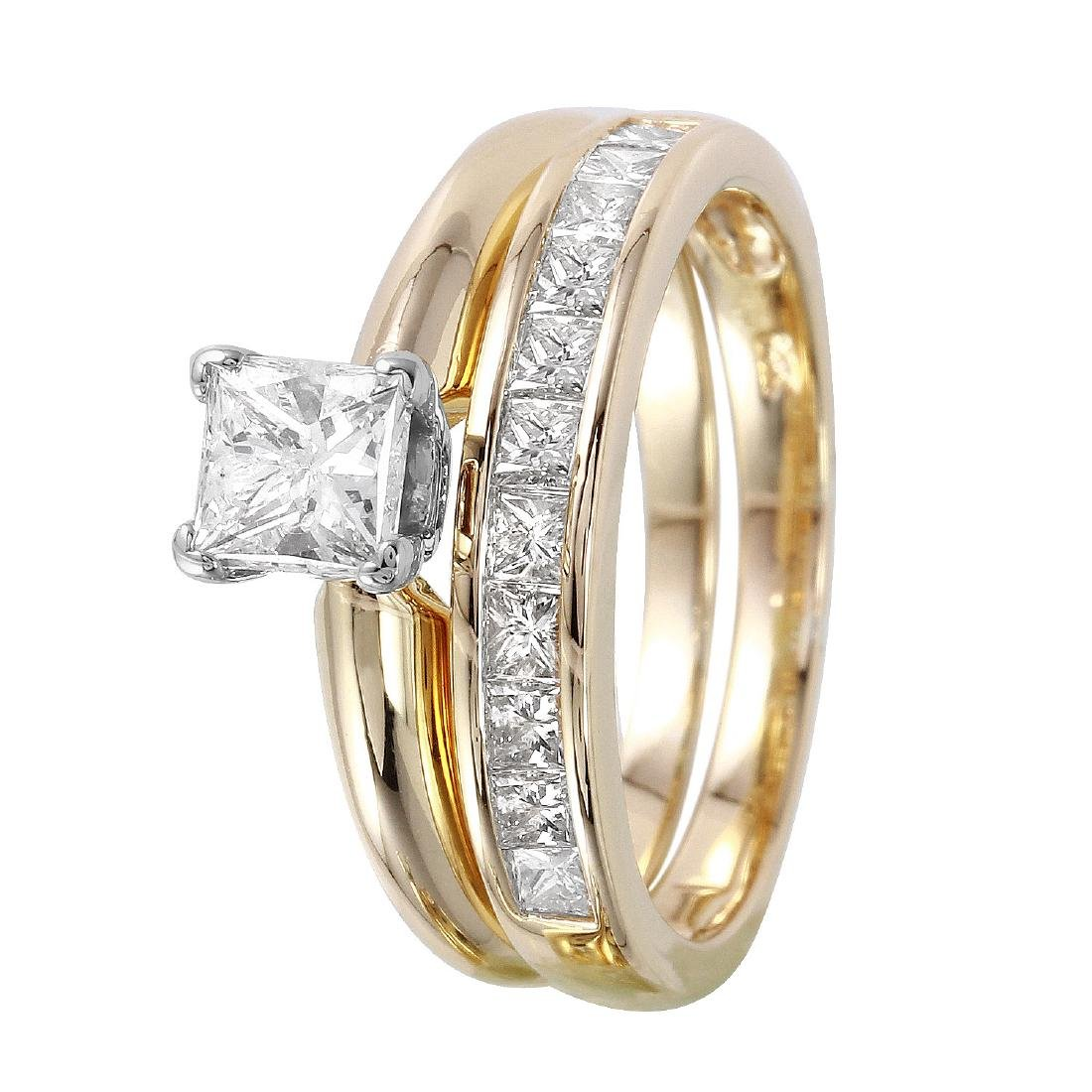 14KT Yellow Gold Diamond Solitaire Ring