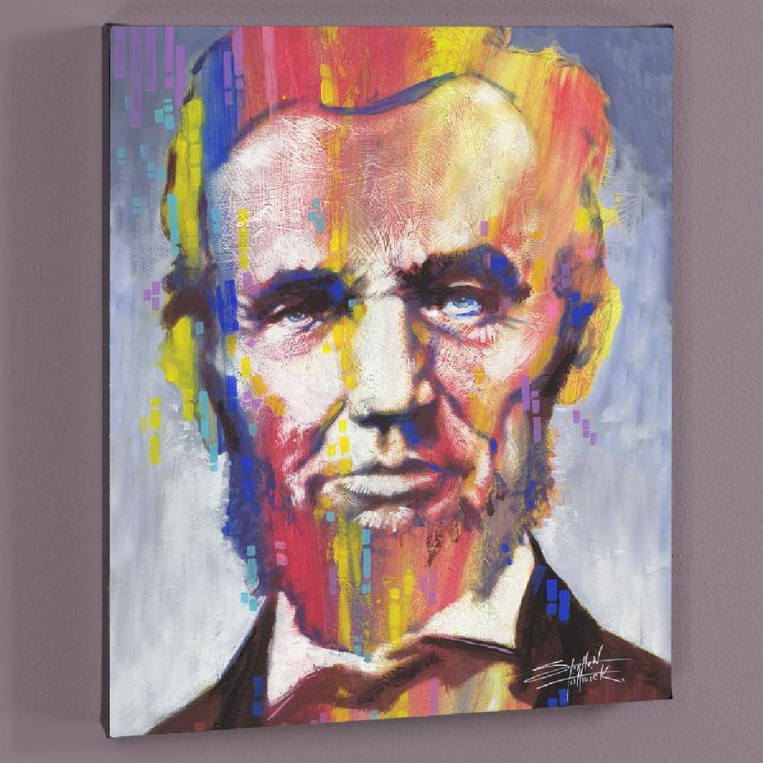 """""""Abe"""" LIMITED EDITION Giclee on Canvas by Stephen"""