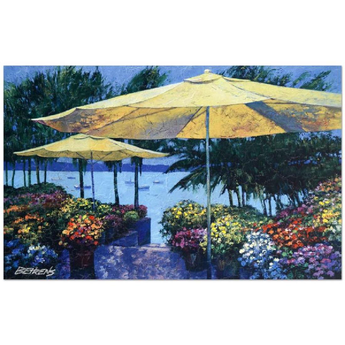 "Howard Behrens (1933-2014) - ""Flowers by the Sea"""