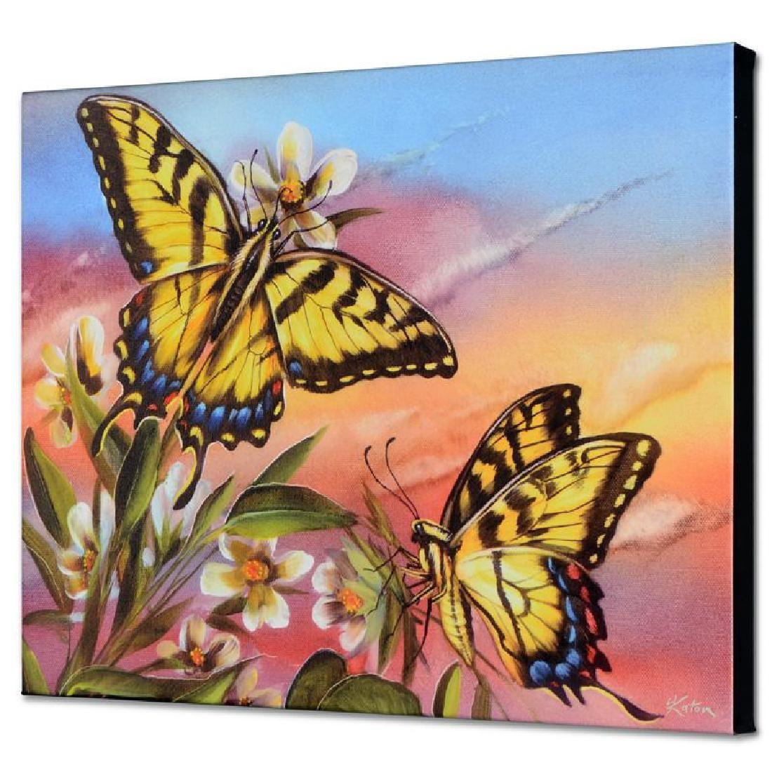 """""""Tiger Swallowtail"""" Limited Edition Giclee on Canvas by"""