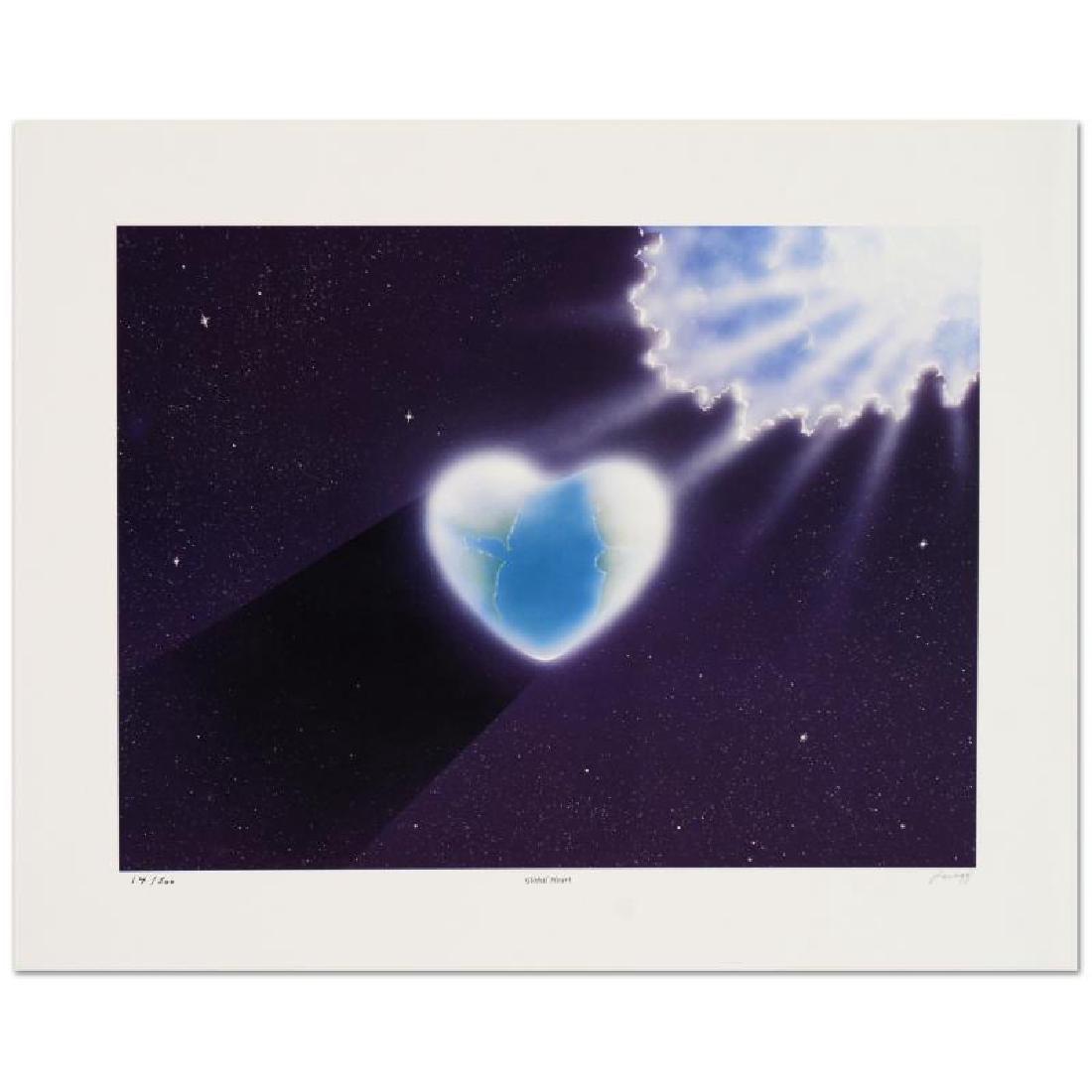 "Steven Lavaggi - ""Global Heart"" Limited Edition"