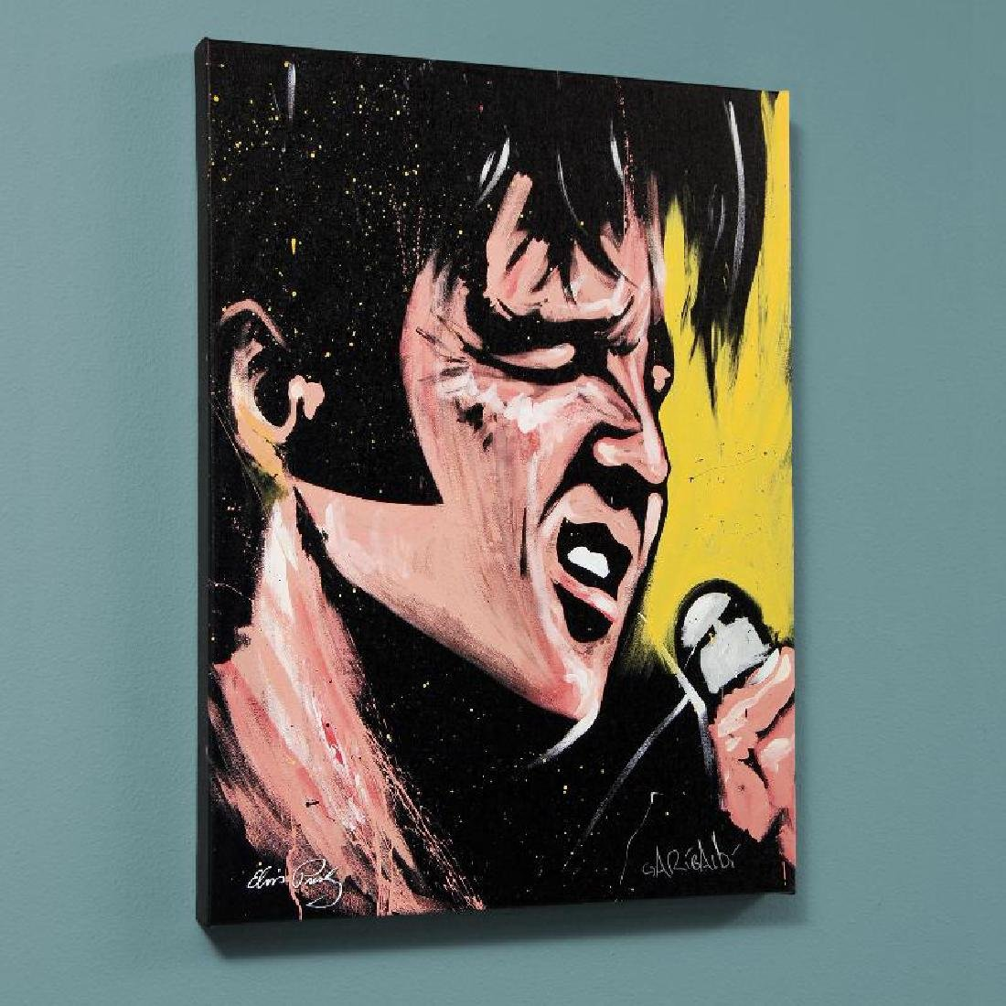 """Elvis Presley (68 Special)"" LIMITED EDITION Giclee on"