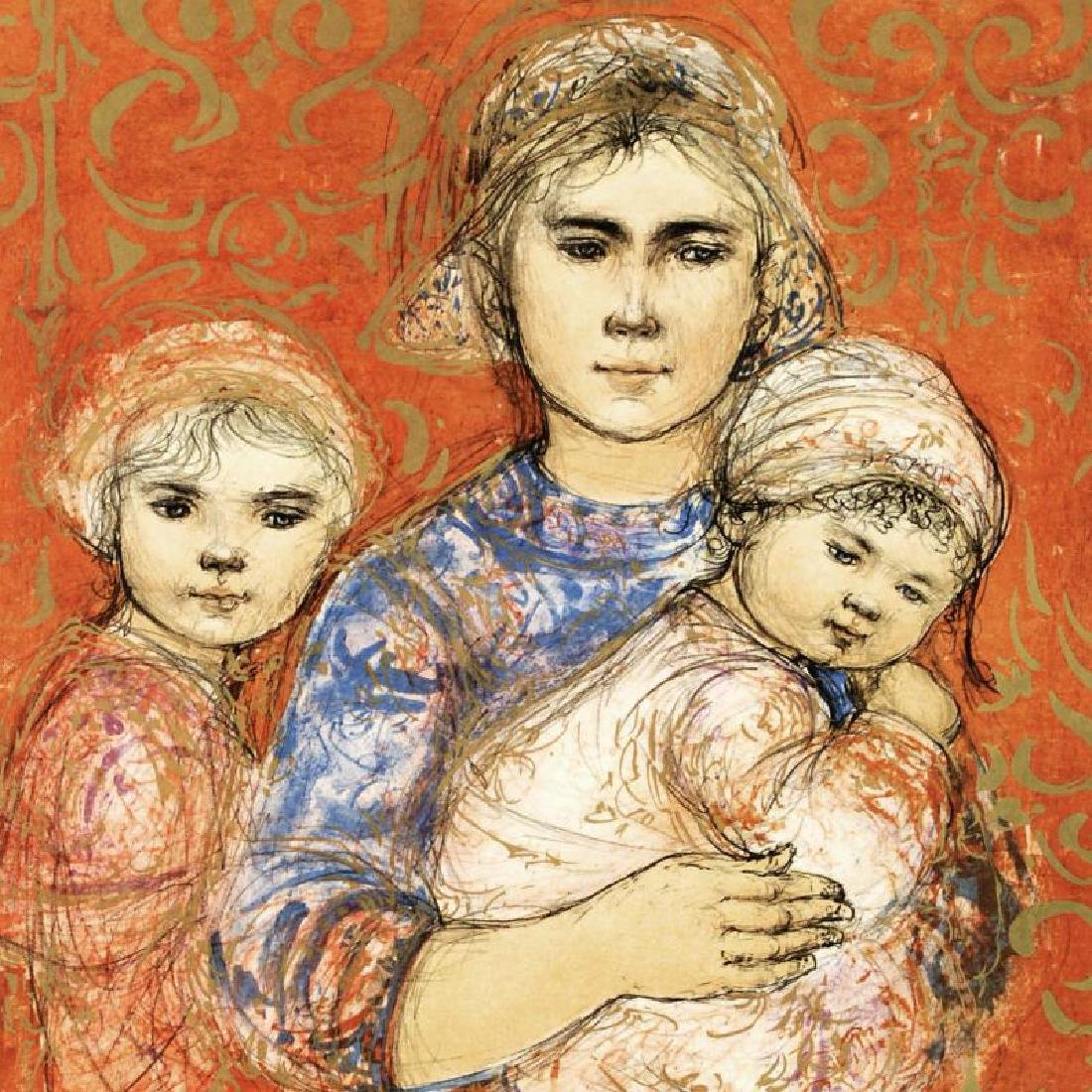 """""""Jenet, Mary and Wee Jenet"""" Limited Edition Lithograph"""