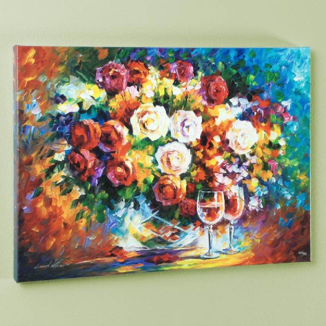 """""""Roses and Wine"""" LIMITED EDITION Giclee on Canvas by"""