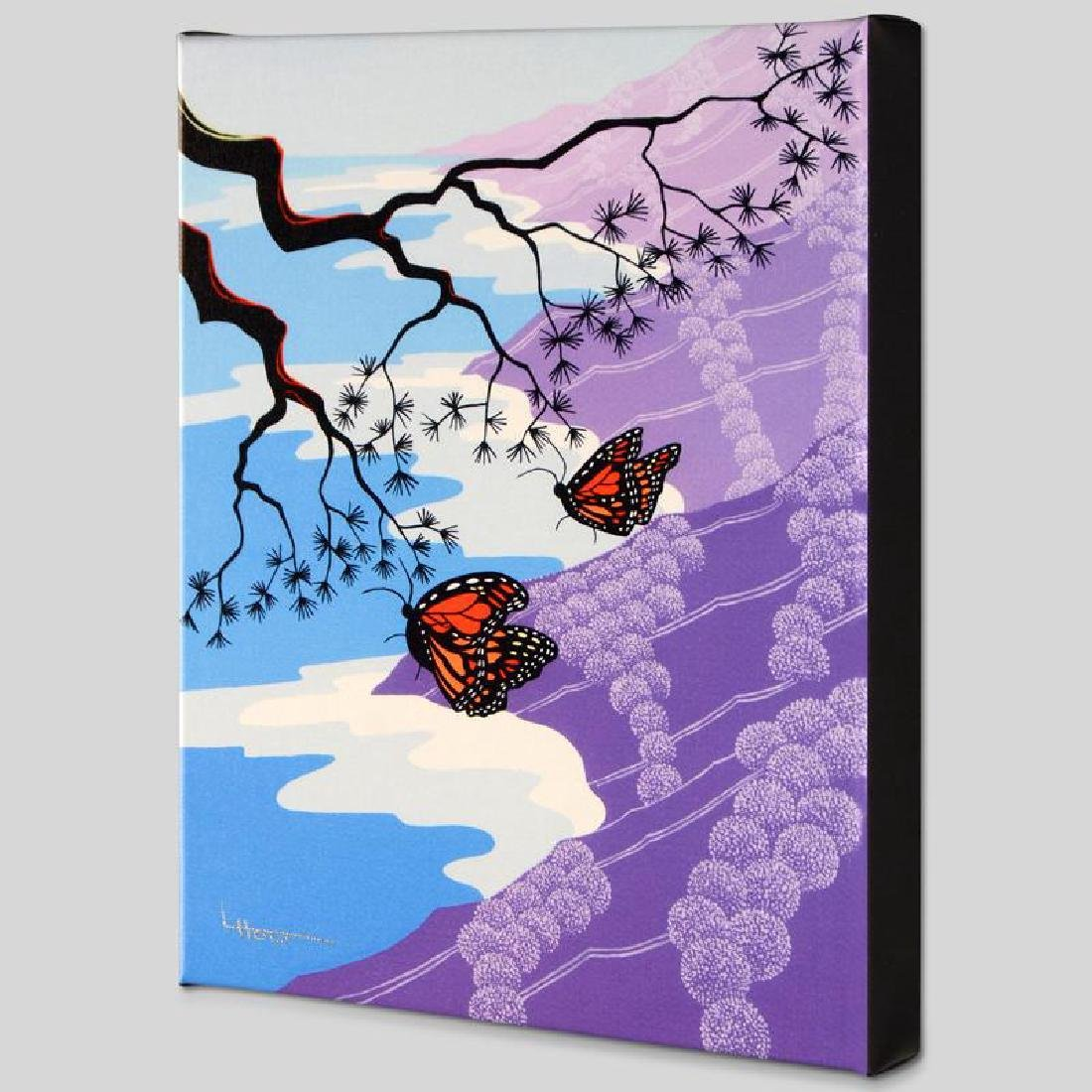 """""""Monarchs"""" Limited Edition Giclee on Canvas by Larissa"""