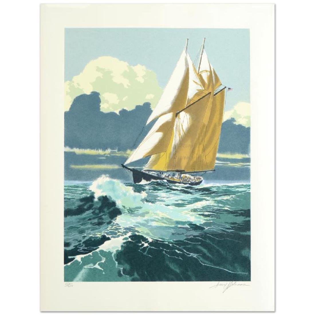 """""""Gloucester Fisherman"""" Limited Edition Serigraph by"""