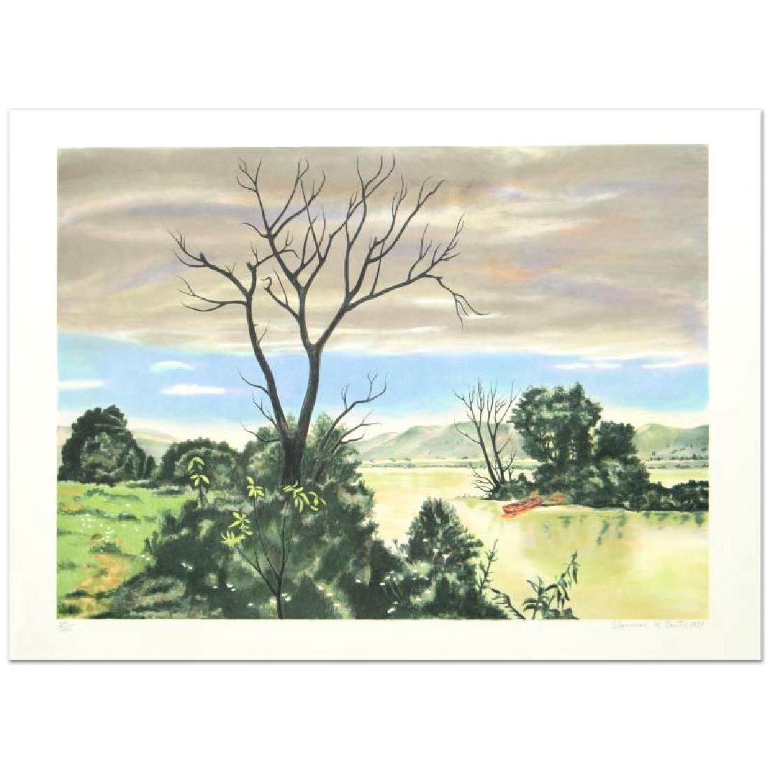 """""""The Marsh"""" Limited Edition Lithograph by Clarence"""