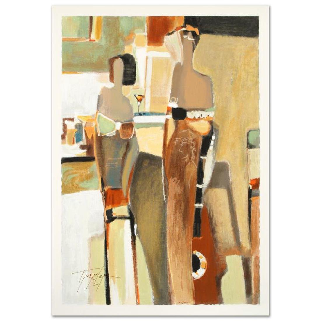 Bar Scene II Limited Edition Serigraph by the Gifted