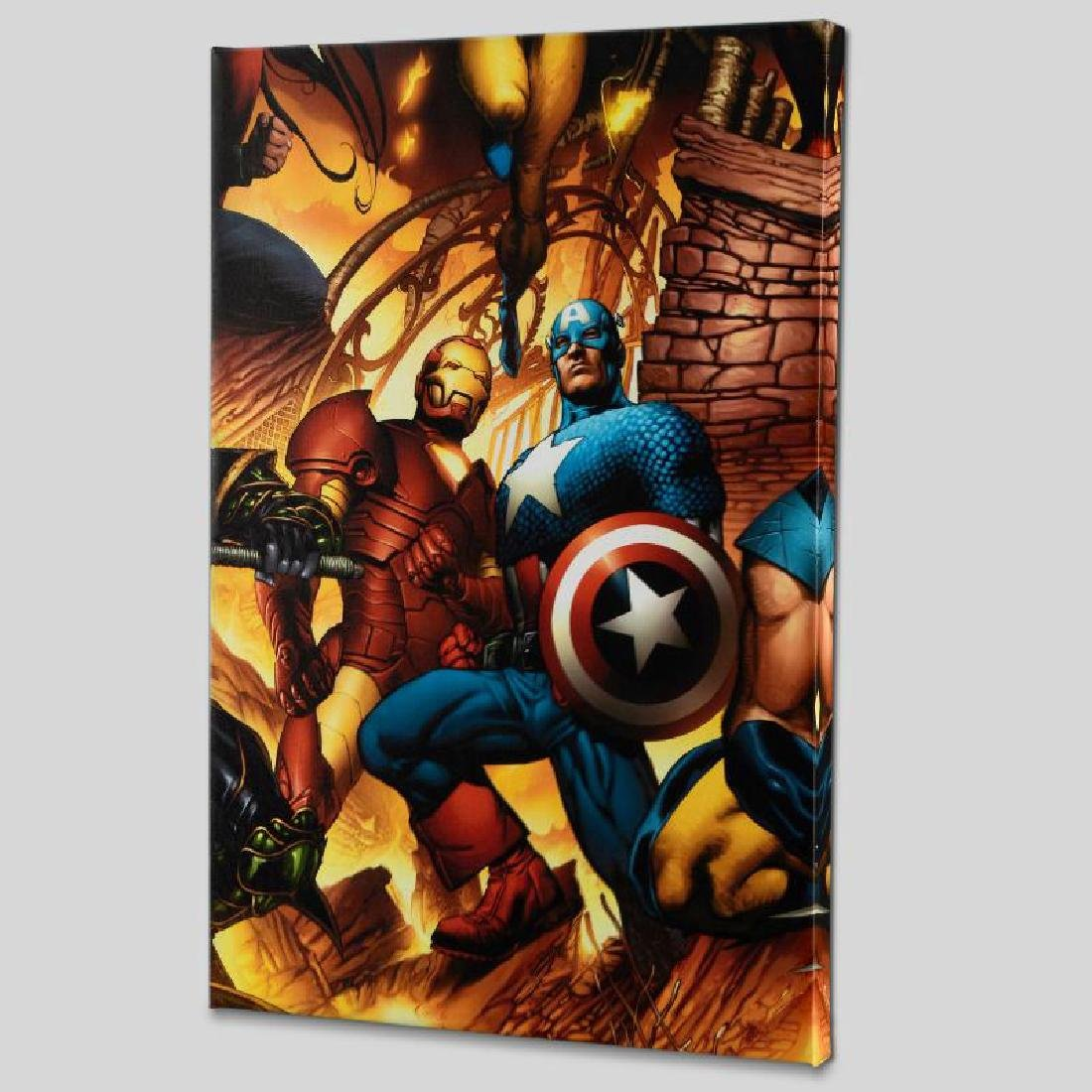 """""""New Avengers #6"""" Limited Edition Giclee on Canvas by"""