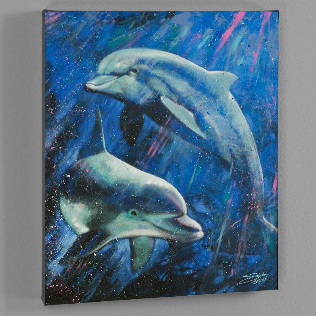 """""""Life Aquatic"""" LIMITED EDITION Giclee on Canvas by"""