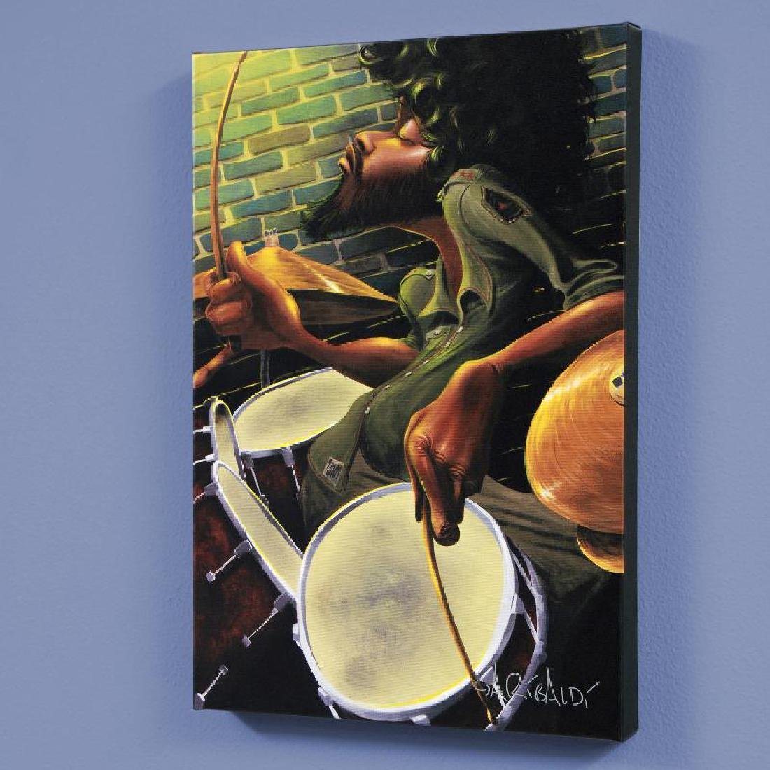 """Break Beat Fever"" LIMITED EDITION Giclee on Canvas by"