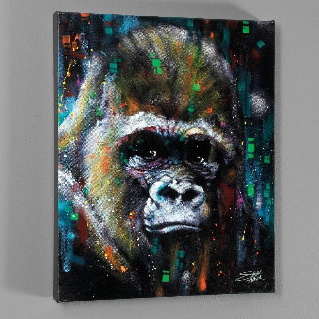 """Albert"" LIMITED EDITION Giclee on Canvas by Stephen"