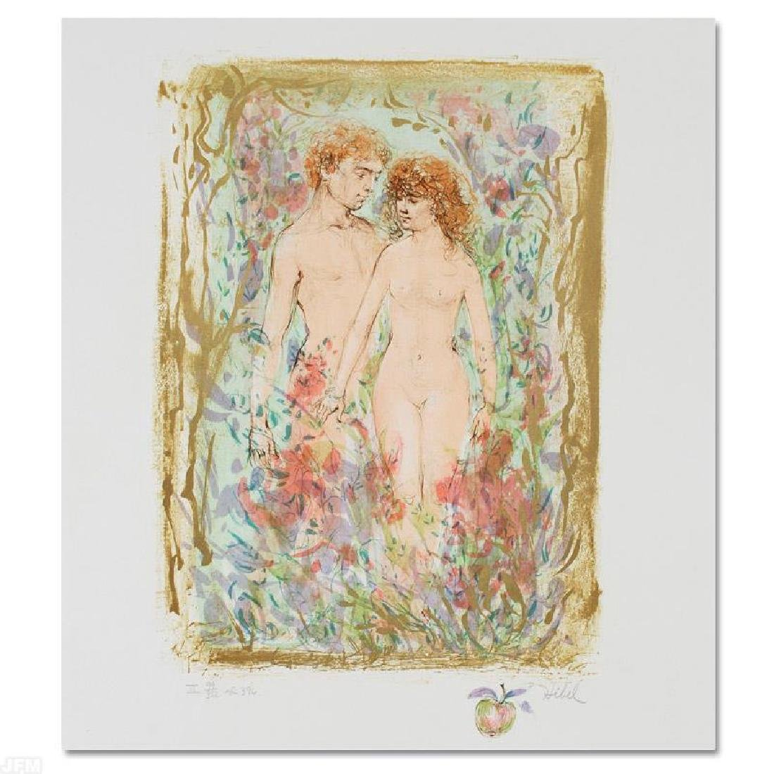 """The First Couple"" Limited Edition Lithograph by Edna"