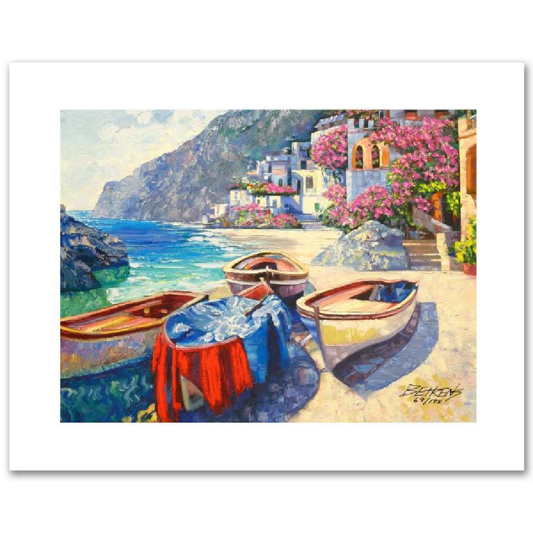 """Memories of Capri"" Limited Edition Hand Embellished"