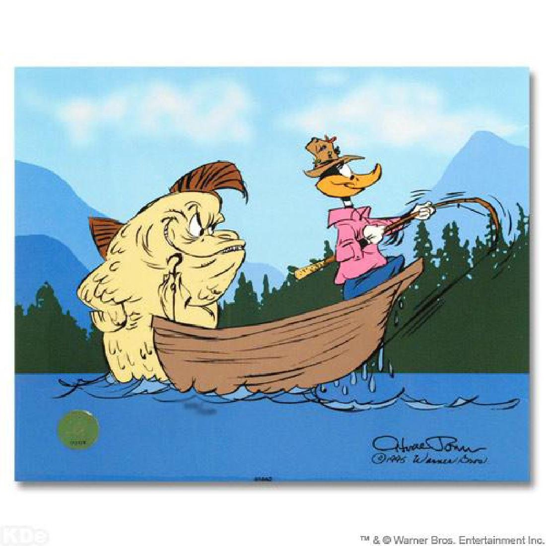"""""""Fish Tale"""" by Chuck Jones (1912-2002)! Sold Out"""