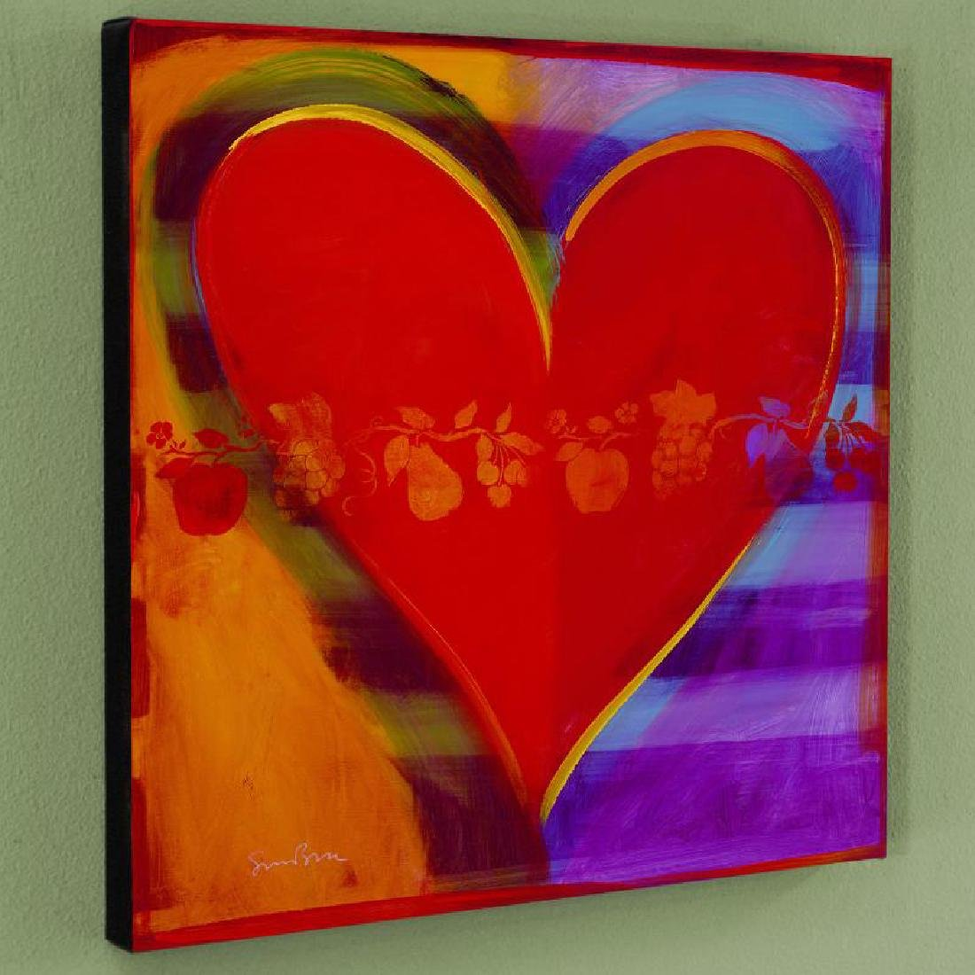 """""""Rainbow Road"""" Limited Edition Giclee on Canvas by"""
