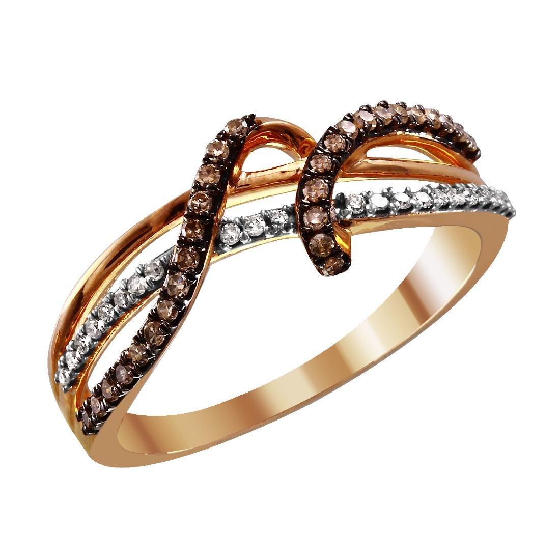 10KT Gold Diamond Ring