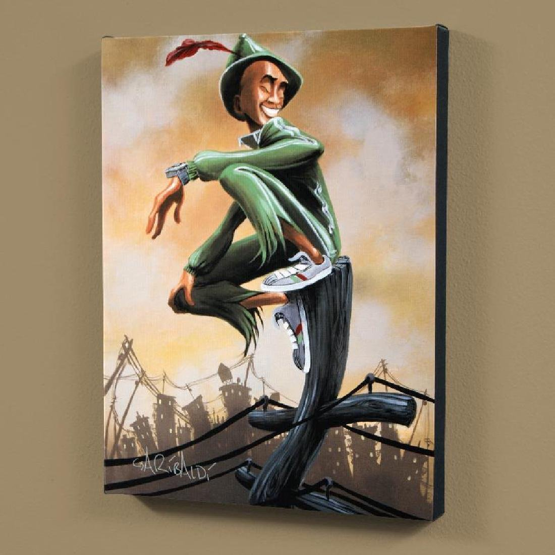 """""""Peter Pan"""" LIMITED EDITION Giclee on Canvas (27"""" x"""