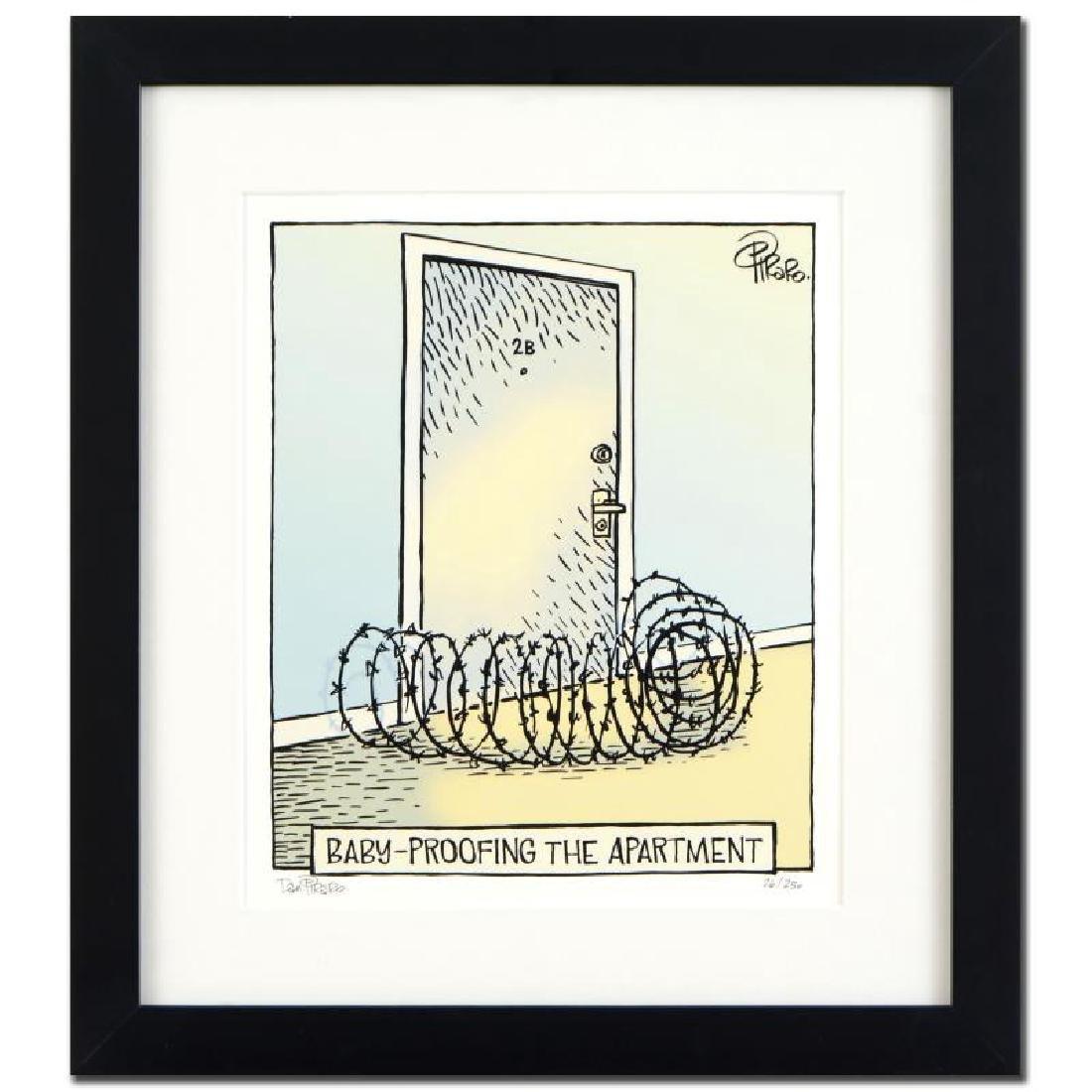 "Bizarro! ""Baby Proof"" is a Framed Limited Edition which"