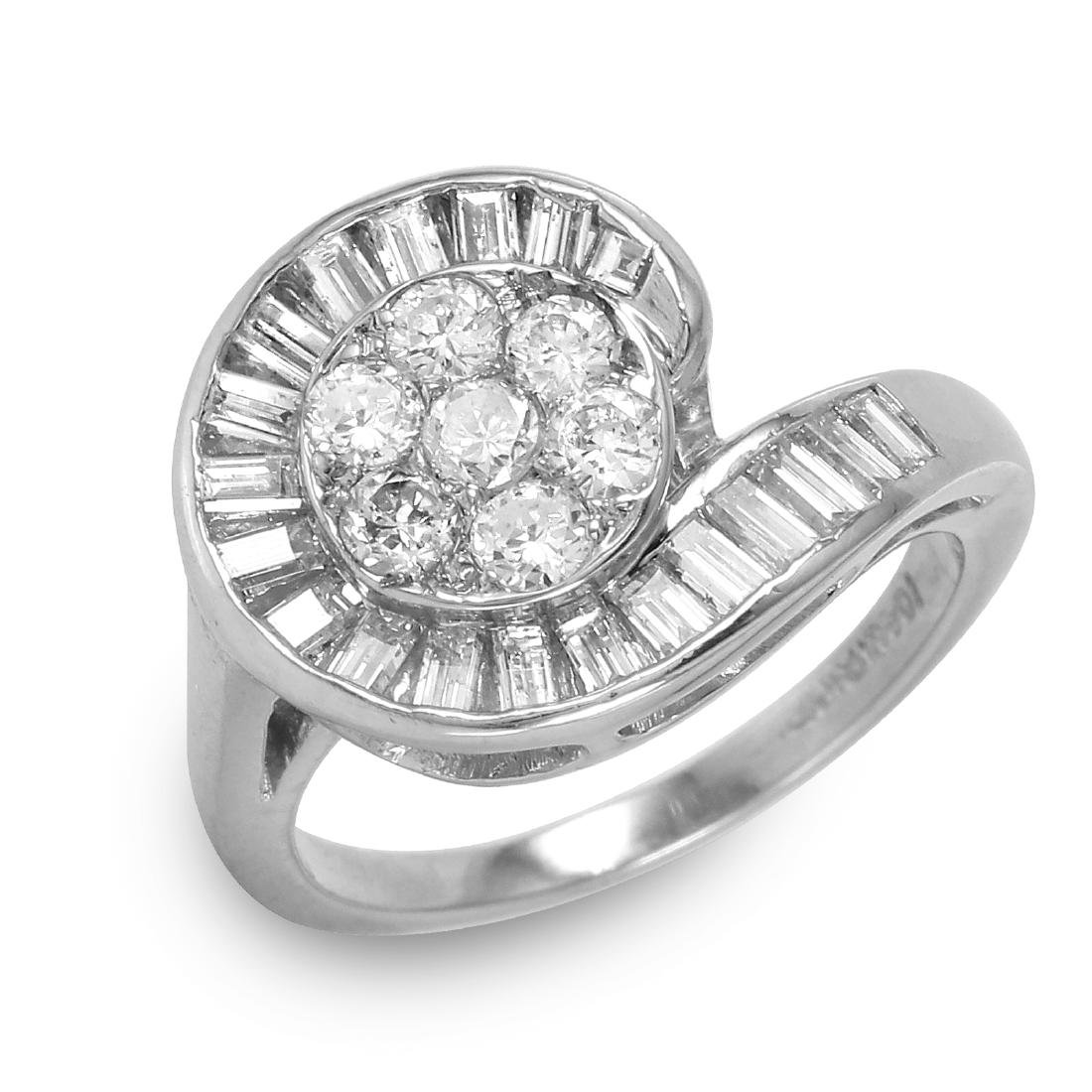 Diamond Platinum Ring