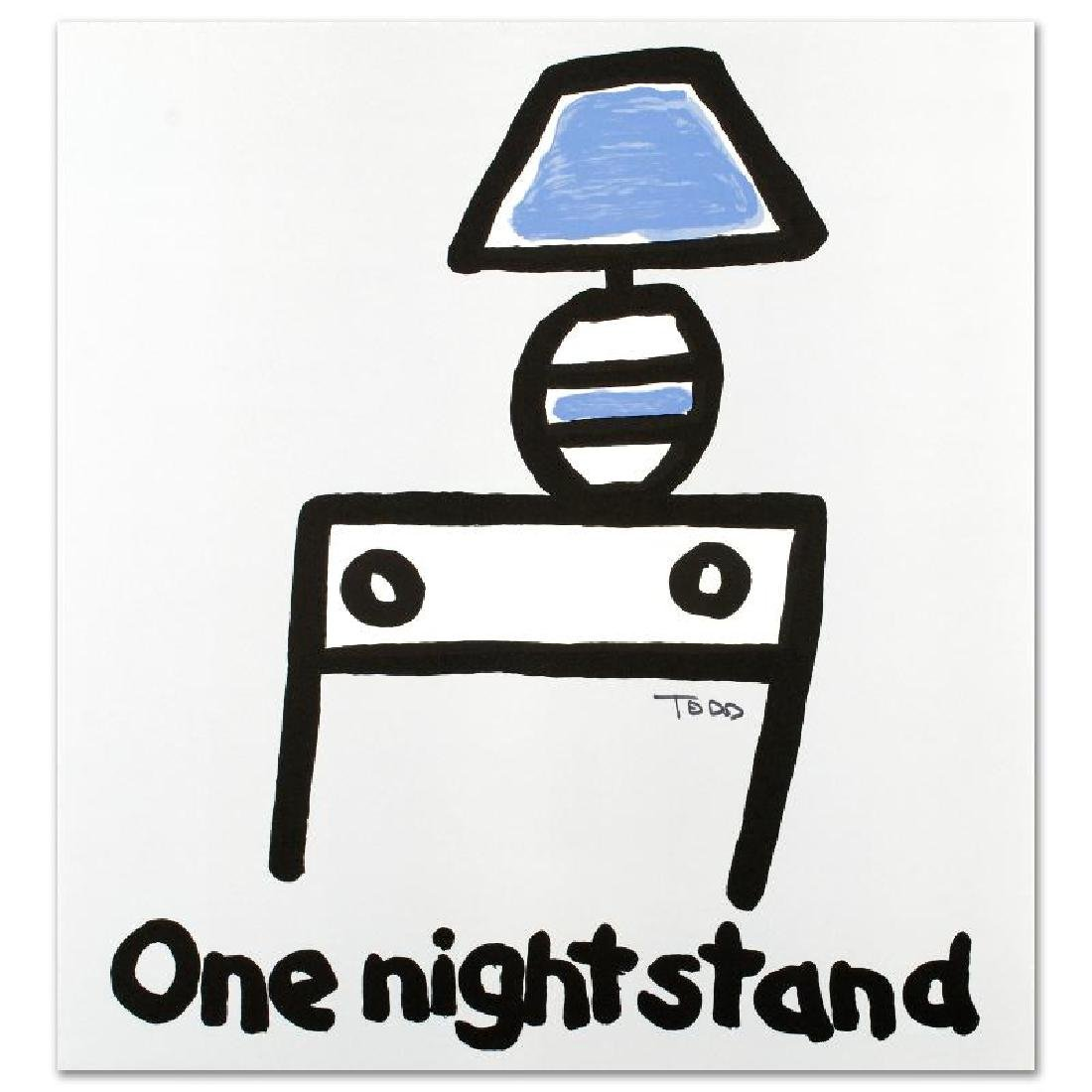 """""""One Night Stand"""" Limited Edition Lithograph by Todd"""
