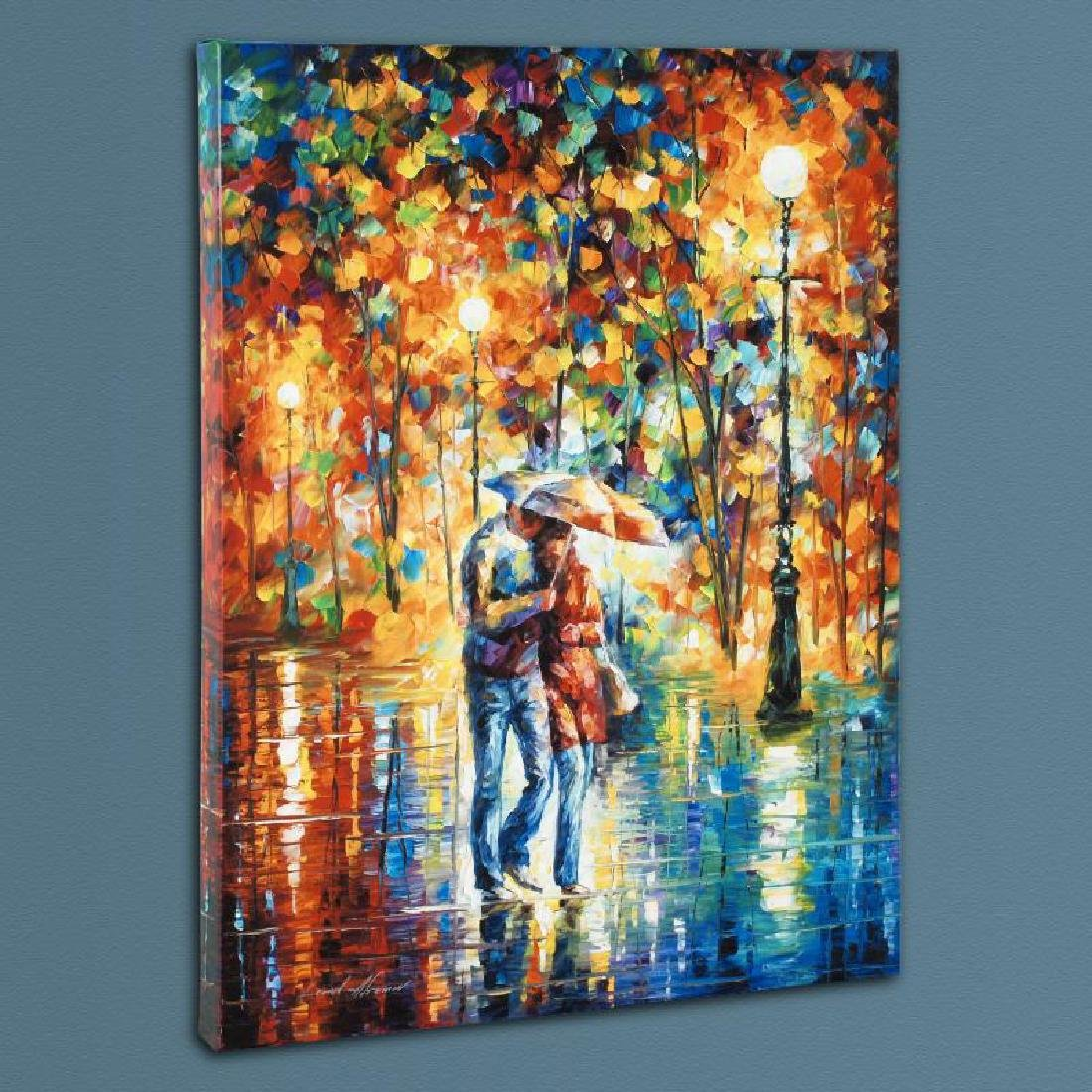 """Rainy Evening"" LIMITED EDITION Giclee on Canvas by"