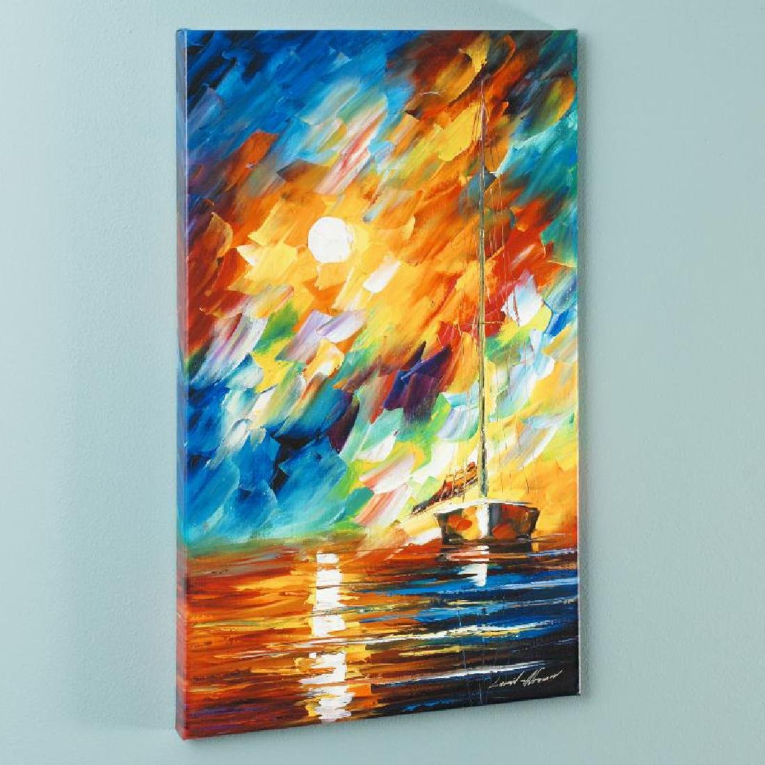 """Rainbow Sky"" LIMITED EDITION Giclee on Canvas by"