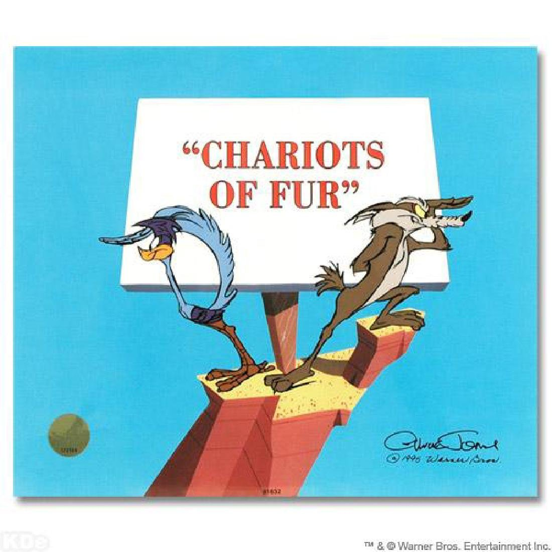 """""""Chariots of Fur"""" Sold Out Limited Edition Animation"""