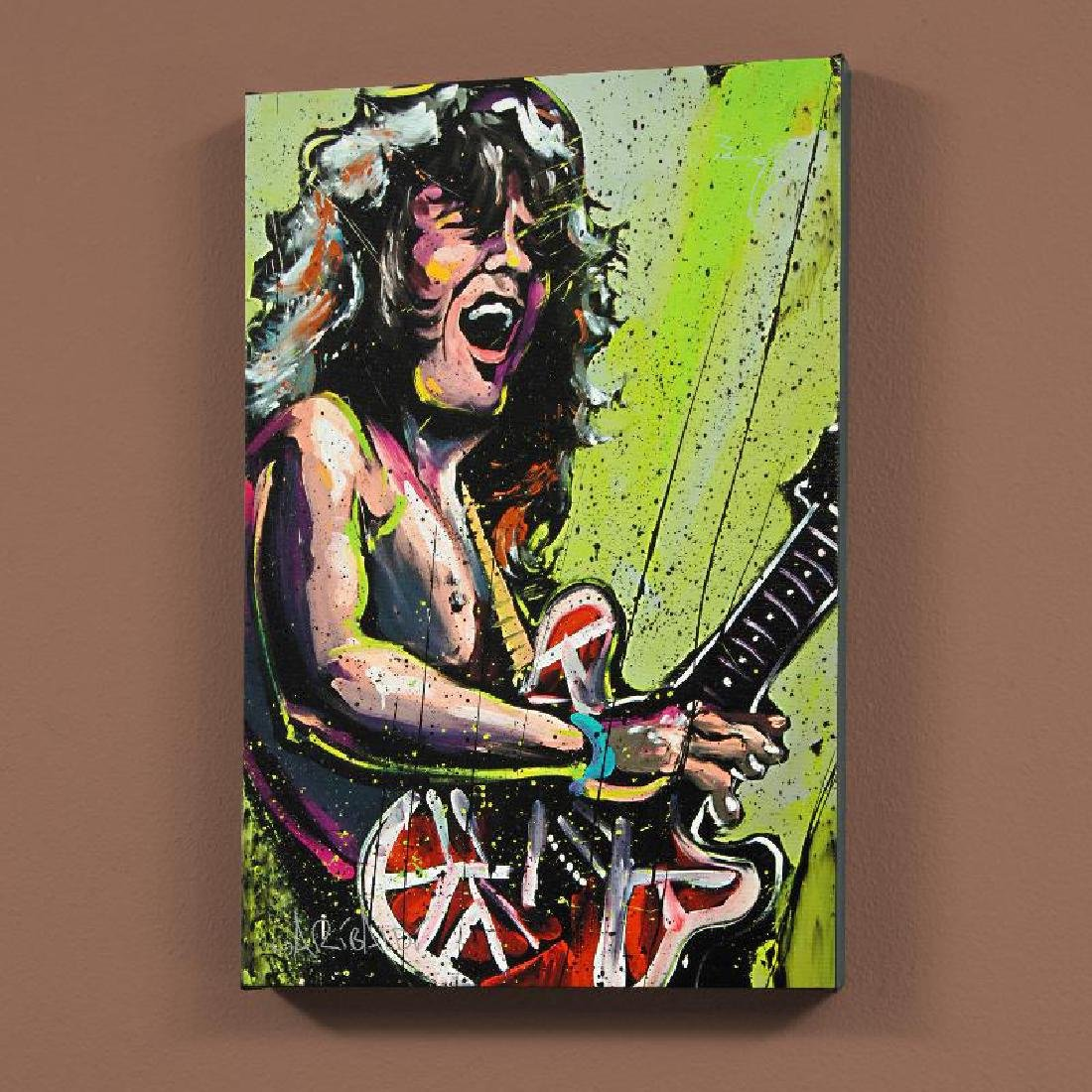 """Eddie Van Halen (Eddie)"" LIMITED EDITION Giclee on"