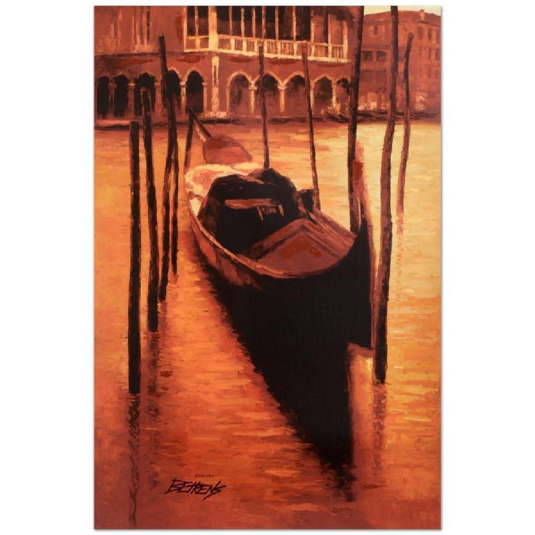 "Howard Behrens (1933-2014) - ""Sunset Gondola"" Limited"